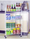 La cucina pratica della mensola di memoria del supermercato fornisce la cremagliera mobile di memoria