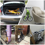 Электрическое миниое карманн складывая электрический велосипед