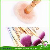 Русалки макияж набор щеток рыб и задние Foundation порошок Eyeshadow косметические щетки