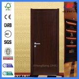 Porte affleurante en bois moulée peinte de modèle intérieur de Prehung