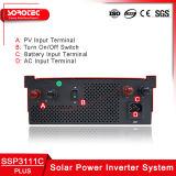1-2kVA geänderte Sinus-Welle weg vom Rasterfeld-Solarinverter mit PWM Solarcontroller