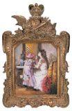 Châssis en bois résine peinture classique (031)