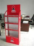 Храньте стойка индикации металла товара положения пола красные/шкаф
