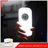Luz do sensor da noite, luz pequena do sensor de movimento