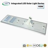Tudo-em-um LED Solar Luz Rua 110W