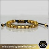De gouden Armband van de Parel van Anil Arjandas, Goud Geparelde Armband voor Mensen Msbb034