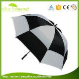 30 인치 겹켜는 비바람에 견디는 골프 우산을 주문 설계한다