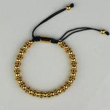 Raupe-Armband Goldanil-Arjandas, Gold bördelte Armband für Männer Msbb034