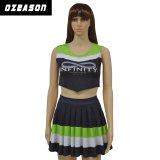 Falda del Cheerleading de la impresión de Digitaces de la ropa de deportes de Ozeason