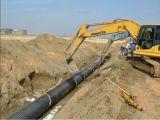 Черный цвет обмотки Structure-Wall HDPE трубы