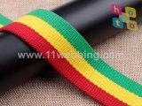 Correas rayadas del algodón/correas del Polivinílico-Algodón para la correa de la maneta del bolso