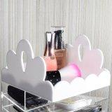 Erstklassiger drehender Lippenstift-u. Paletten-Halter-Verfassungs-Acrylorganisator