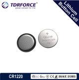 Célula libre del botón del litio de la fábrica de China del Mercury y del cadmio en el bulto (3V CR2450)