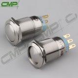 CMP imprägniern keinen Metallselbstsichernden Drucktastenschalter Nc-19mm