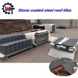 Azulejo de azotea de la ripia de la hoja de acero del hierro del material de material para techos