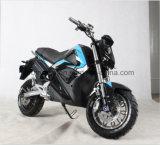 Motocicleta elétrica de alta velocidade de 72V 40ah com freio de disco