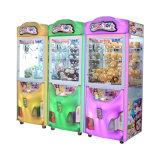 硬貨によって作動させる爪クレーンギフトは販売のための狂気のおもちゃ2の娯楽キャッチャーの販売のゲーム・マシンを機械で造る