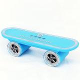 Kühle LED Mehrfarbenlichter des neuen Skateboard-Lautsprecher-mit Mic-drahtlosem Freisprechmusik-Spieler für iPhone Subwoofer