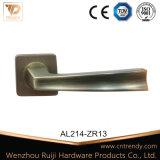 家具のハードウェアの紋章(AL217-ZR23)のアルミニウムクロムドアのレバーハンドル
