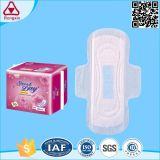 La garniture sanitaire de serviette hygiénique de Madame Ultra Thin Cotton pour des femmes emploient jour et nuit
