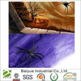 [هلّووين] مرنة [سبيدر وب] أرجوانيّة شبكة عنكبوت زخرفة مع عنكبوت