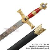Vasto re medioevale Solomon Sword di Swordgold 87cm