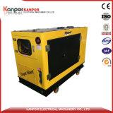 generatore raffreddato ad acqua del diesel del cilindro di 8kw 10kw 12kw singolo