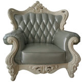 Mejor calidad de Ciff Muebles de oficina estilo real sofá de cuero (169-3)