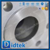 Рукоятка типа 600 ANSI Didtek привелась в действие уменьшенный шариковый клапан Bore плавая
