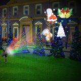 Impermeable al aire libre de Navidad de Copo de Nieve Nieve proyector de LED de luz para jardín