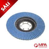 Acero inoxidable productos polacos de la rueda de la tapa de material con zirconio