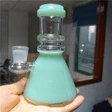 Los tubos de vidrio pequeño vaso de precipitados de fumar tabaco de pipa de la plataforma de vidrio