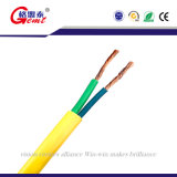 Câble plat non-flexible BVVB d'isolation de PVC