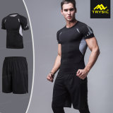 実行中の摩耗のための人のタイツのワイシャツのスポーツのショートパンツのスポーツ・ウェア