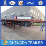 Du Chinois 45FT de conteneur remorque à plat 45ton semi