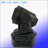 Beweglicher Kopf des Stadiums-Effekt-90W des Punkt-LED für Disco DJgobo-Licht
