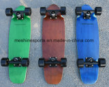 Double coup de pied de la queue du bois d'érable canadien original complet skateboard