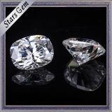 Precio al por mayor 8X6 Colchoneta Super White Moissanite Stone