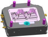 moulage sous pression avec gating optimisée de la configuration du moule/G