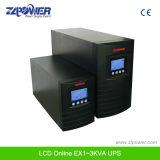 UPS en línea de alta frecuencia 1kVA 2kVA 3kVA SAI con precio de fábrica de doble conversión