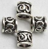 De uitstekende Parels van de Charmes van de Knoop van Viking van de Knopen van Smal Mteal Antieke Zilveren voor het Haar van de Baard