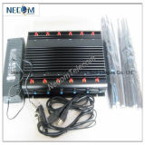 Hoge Macht 12 Band voor Al Cellulair Systeem van de Stoorzender van de Telefoon GSM/CDMA/3G/4G, Draagbare GPS van de Hoge Macht (GPS L1L2L3L4L5) Stoorzender