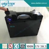 5V USB/담배 소켓/DC 연결관을%s 가진 태양 전지 리튬 12V 9ah LiFePO4 건전지