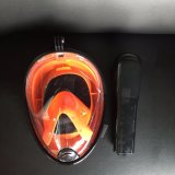 新しい優れたダイビングマスクのパノラマ式のスノーケルマスク、アマゾンのGoproのカメラのためにスノーケリングする太字のスノーケルマスクの霧