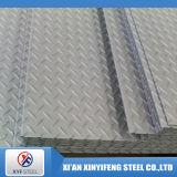 201 304 316ステンレス鋼のチェック模様か浮彫りにされた鋼板