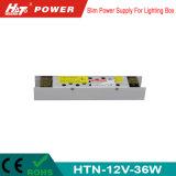 alimentazione elettrica di commutazione del trasformatore AC/DC di 12V 3A 36W LED Htn