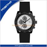 Relógio de aço do damasco material novo do cronógrafo do aço de Damasco