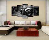 Imágenes de lienzo bastidor modular Cartel Artístico Decoración paredes habitación Niños Arte impreso de alta definición 5 Piezas motocicleta pintura