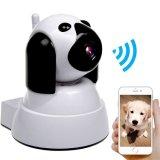 1.0MP 720p HD 2スマートな犬のWiFiネットワークIPの保安用カメラかペット赤ん坊のモニタ