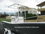 Liya 19FT Fiberglas-Fischenpanga-Boots-Fischerboote mit Motor